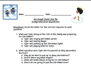 An Angel Just Like Me Lesson Plan and Prezi