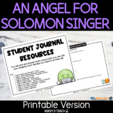 An Angel for Solomon Singer Lesson Plan and Activities   S
