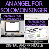 An Angel for Solomon Singer   SEL Activities and Lesson Pl