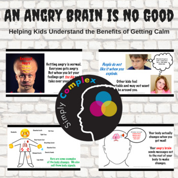An Angry Brain is No Good; Helping Kids Understand the Need to Calm Down