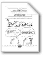 An Animal Parade (the articles 'a/an')