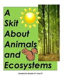 An Animal Skit: Living and Nonliving Elements in an Ecosystem