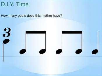 An Animated PowerPoint for Teaching Time Signature