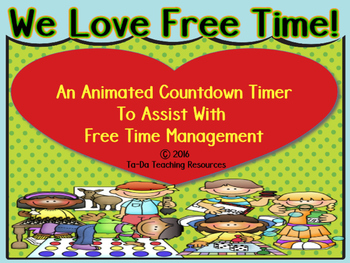 An Animated Time Management Countdown Timer For Free Time