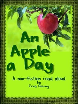 An Apple A Day--A non-fiction read aloud