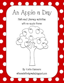 An Apple A Day: Apple-Themed Differentiated Math and Liter