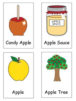 An Apple A Day Literacy and Math Centers