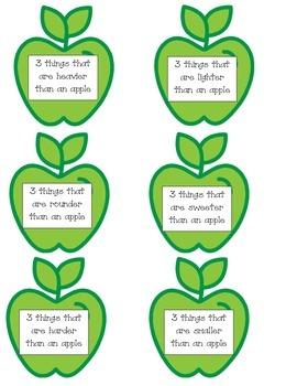 An Apple (A fluency of ideas center)