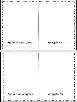 An Apple Grows -Booklet-Freebie
