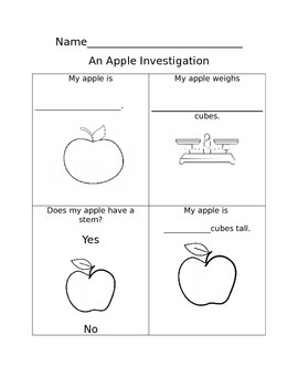 An Apple Investigation