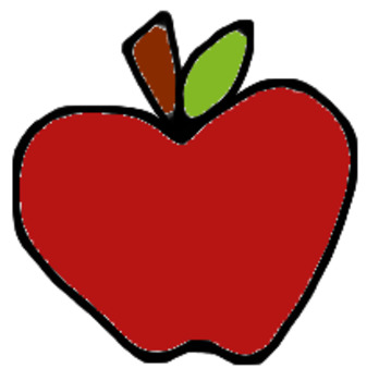 An Apple a Day Clipart Bundle