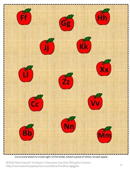 Apples File Folder Games Special Education Kindergarten Johnny Appleseed