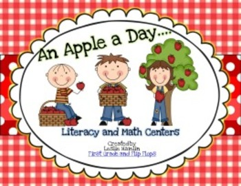 An Apple a Day! Literacy and Math Centers
