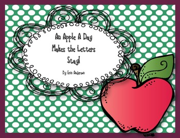 An Apple a Day Makes the Letters Stay