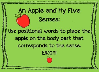 An Apple and My Five Senses