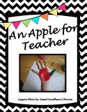 An Apple for Teacher Art Lesson by Sweet Southern Charm