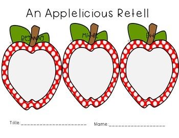 An Applelicious Retell