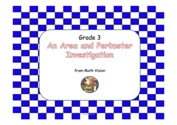 An Area and Perimeter Investigation