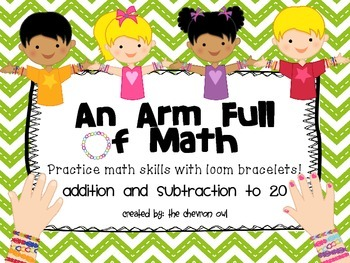Addition and Subtraction to 20 Task Cards: An Arm Full of