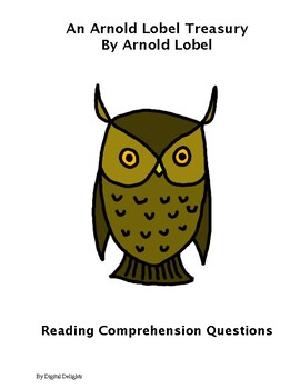 An Arnold Label Treasury Reading Comprehension Questions
