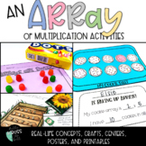 Arrays | Multiplication | Repeated Addition | Array Activities