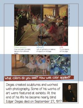 An Artist Book About Edgar Degas