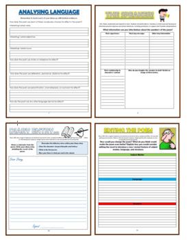 An Arundel Tomb - Comprehension Activities Booklet!