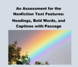 An Assessment for Nonfiction Text Features: Headings, Bold