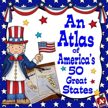 An Atlas--Maps of America's 50 States