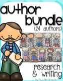 An Author Research and Writing Bundle of 24 Authors
