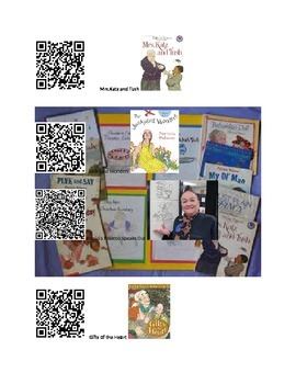 An Author Visit with Patricia Polacco using QR Codes
