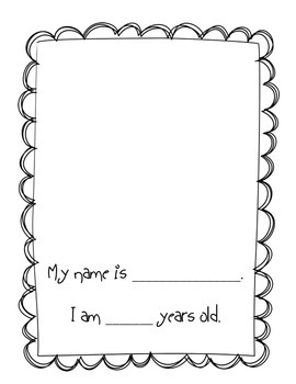 An Autobiography Project for Primary Grades