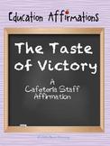 A Cafeteria Staff Affirmation (Professional Development)