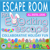 An EGGciting Escape Room/Breakout ~ All Digital Locks ~EASTER/HOLIDAY FUN!
