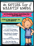 An ENTIRE YEAR of BULLETIN BOARDS! 2-3 for EVERY MONTH!