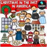An Early Christmas in America Clip Art Set {Educlips Clipart}