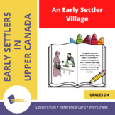 An Early Settler Village in Upper Canada Grade 2-4