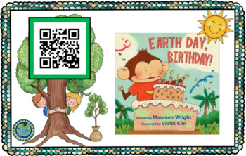 An Earth Day Listening Center with SafeShare.tv QR Codes and Links