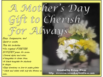 An Easy, Inexpensive and Memorable Mother's Day Gift for kids to make