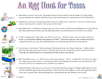 An Egg Hunt for Tessa