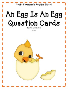 An Egg Is An Egg Comprehension Questions