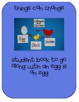 An Egg is An Egg Activities