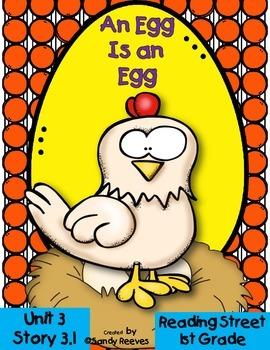 An Egg is an Egg 3.1 Reading Street 1st Grade Resource Pack  {2008 Version}