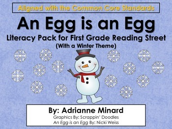 An Egg is an Egg - First Grade Foresman Reading Street Lit