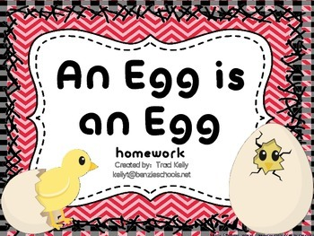 An Egg is an Egg Homework