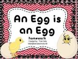 An Egg is an Egg Homework