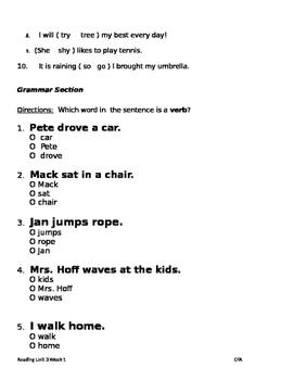 An Egg is an Egg Phonics & Grammar:CV Long Vowels,Vowel Sounds of Y;Action Verbs