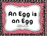 An Egg is an Egg - Scott Foresman 1st Grade