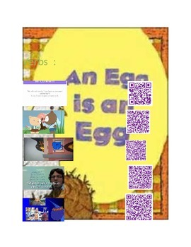An Egg is an Egg  with Q.R.Codes