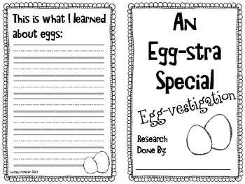 An Egg-stra Special Egg-vestigation